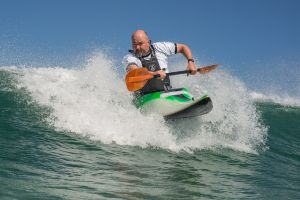 Rich Sims, new surf kayak 2