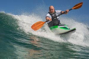 Rich Sims, new surf kayak 3