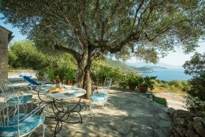 Greek Villa lunch, Cephalonia